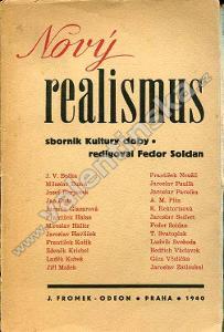 Nový realismus: Sborník Kultury doby