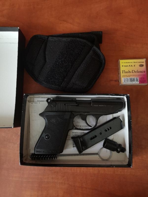 Plynova pistole  - Střelba a myslivost