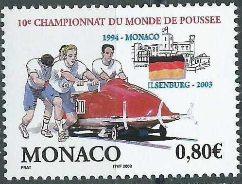Monaco, Mi 2638,  ** - Filatelie