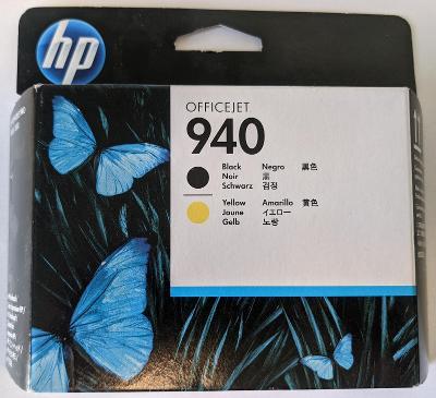 Originální tisková hlava HP OfficeJet 940 černá a žlutá