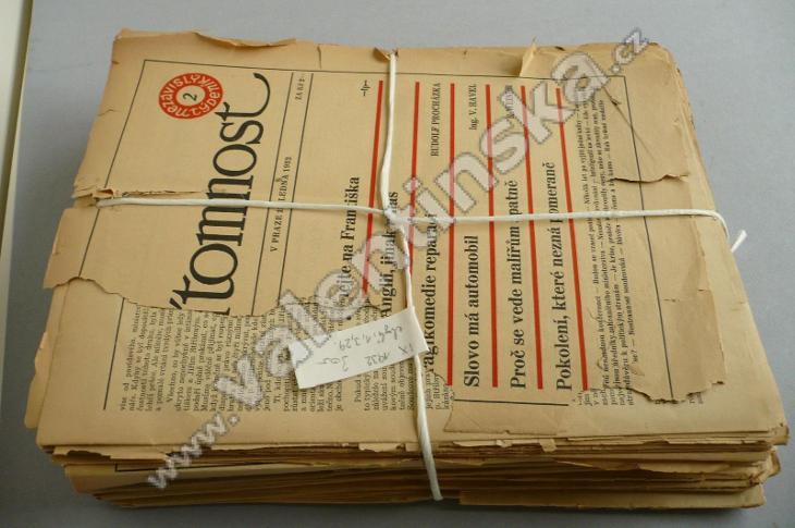 Časopis Přítomnost, nekomp. ročník IX. (1932) - Knihy