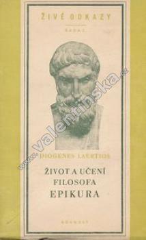 Život a učení filosofa Epikura - Knihy