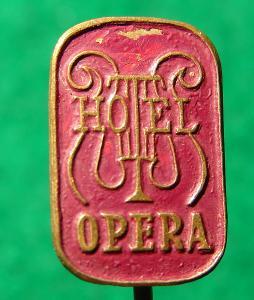 odznak/ HOTEL OPERA /38