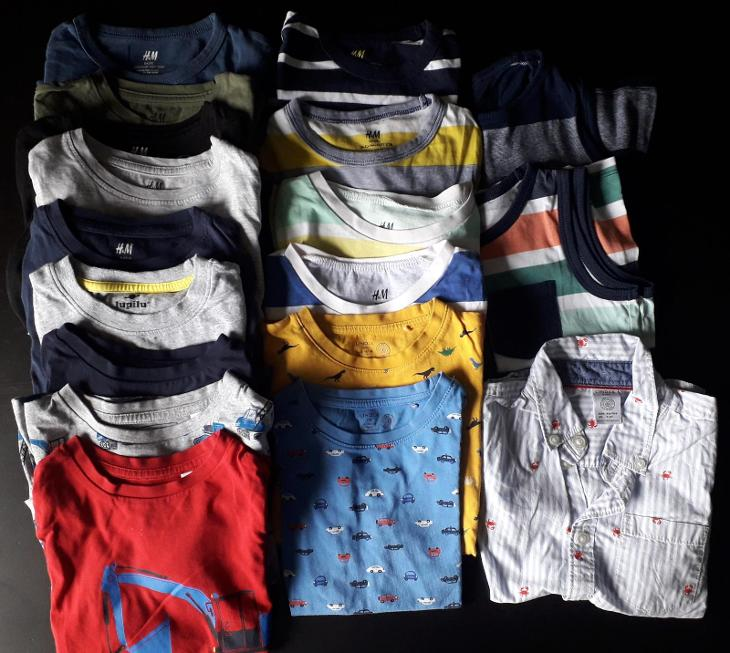 Chlapecký set podzim - zima vel. 98/104 37ks - Oblečení