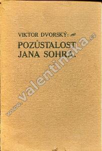 Pozůstalost Jana Sohra