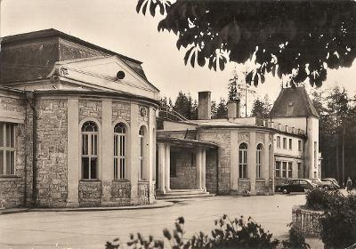 VYŠNÉ RUŽBACHY - Liečebný ústav - jedáleň - Stará Ľubovňa - VF