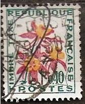France 1964 Taxw, flora ine raz.