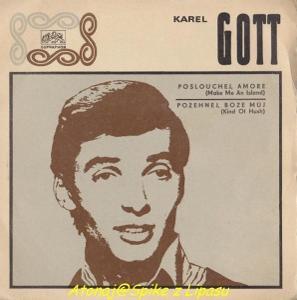 SP deska - Karel Gott 1970