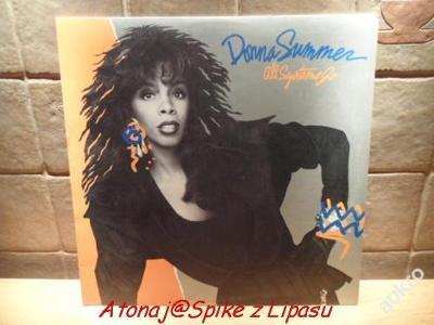 LP - Donna Summer All Systems Go 87/Geffen Records