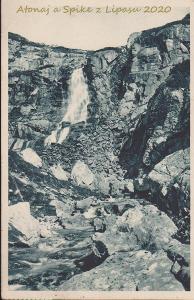 Vysoké Tatry - Mlýnská Dolina Vodopád Skok 1934 prošlá