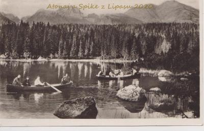 Vysoké Tatry - Štrbské Pleso 1932 prošlá
