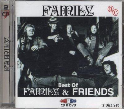 CD + DVD  Family & Friends - Best of
