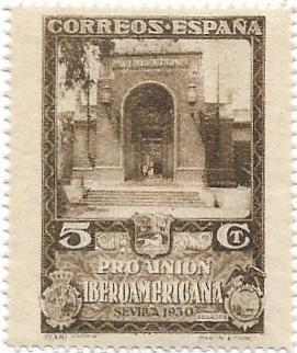 Známka starého Španělska** od koruny
