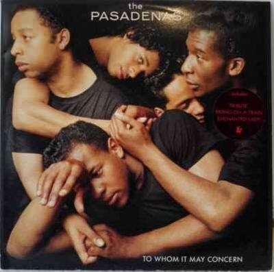 LP The Pasadenas - To Whom It May Concern, 1988 EX