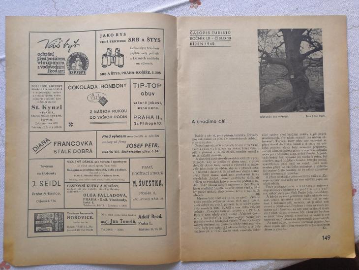 Časopis turistů - Antikvariát