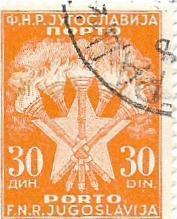 Známka Jugoslavie od koruny -strana 1