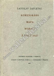 Komenského mapa Moravy z roku 1627