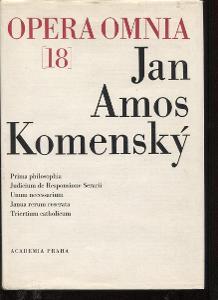 Opera Omnia 18. Jan Amos Komenský