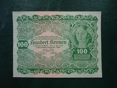 100 Kronen 1922 UNC