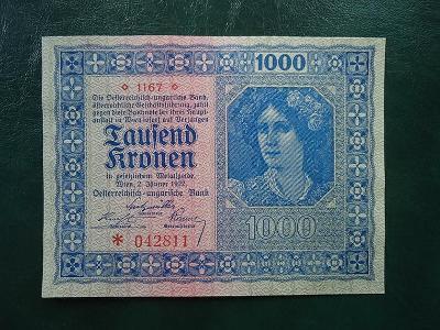 1000 Kronen 1922 UNC