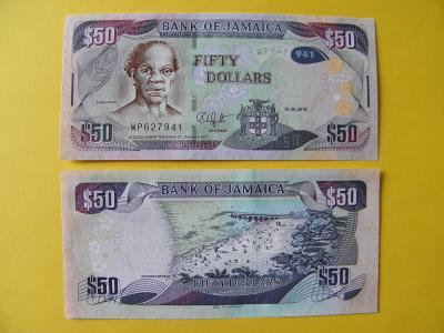 50 Dollars 1.6.2018 Jamaica - P94d - UNC - /H282/