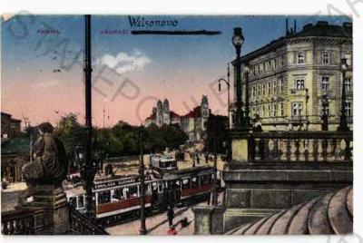 Praha Wilsonovo (Hlavní) nádraží tramvaj