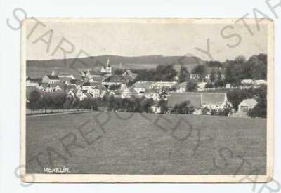 Merklín Plzeň - jih celkový pohled