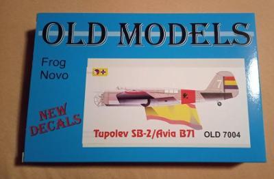 Novo/Frog/old model SB-2/Avia B71 1/72 Novinka