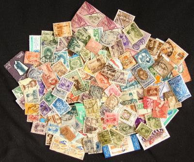 Sbírka známek Egypt, mnoho starých!