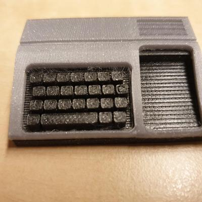 Texas Instruments TI99/4A model z  3D tlačiarne