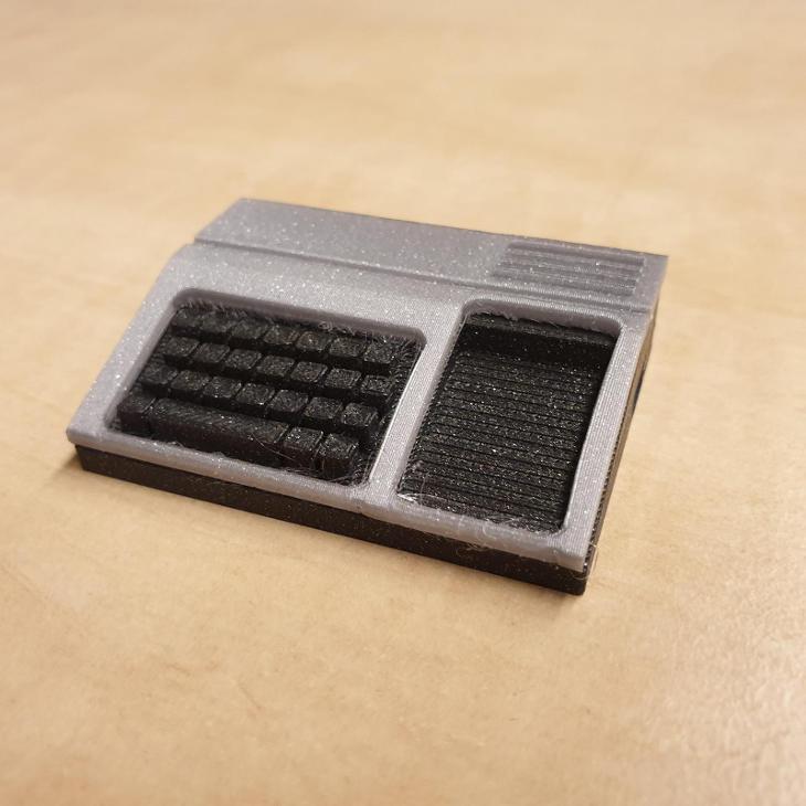 Texas Instruments TI99/4A model z  3D tlačiarne - Historické počítače