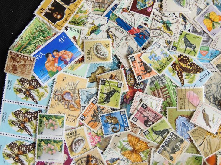Sbírka známek Kenya - Filatelie