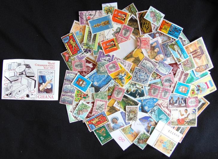 Pěkná sbírka známek Afrika!  - Filatelie