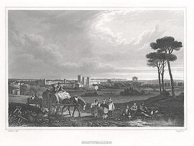 Montpelier, Meyer, oceloryt, 1850