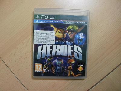Hra na Ps 3 - PlayStation Move Heroes - Český manuál