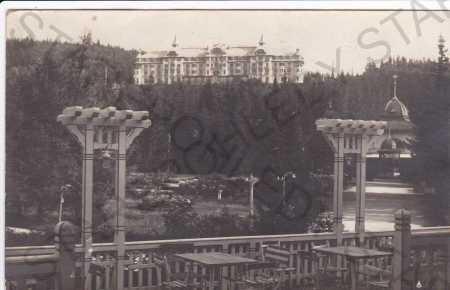 Tatranská Lomnica, částečný záběr města
