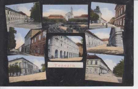 Terezín (Theresienstadt), kostel, kasárny, škola,