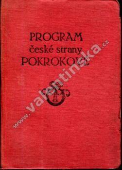 Program české strany pokrokové