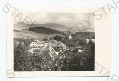 Žacléř Trutnov pohled na město z výšky