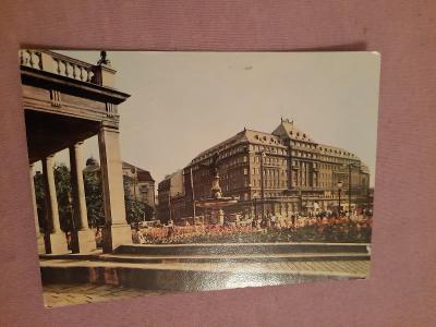 Pohlednice BRATISLAVA - hotel Carlton,prošlé poštou