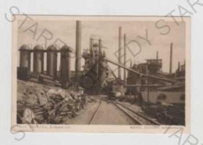 Ostrava - město, hutě, železárny