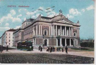 Brno městské divadlo TRAMVAJ