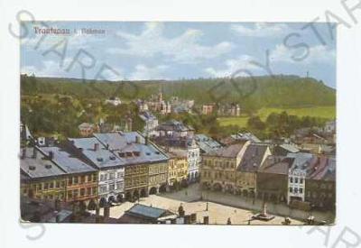 Trutnov pohled na město z výšky náměstí