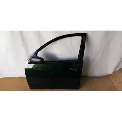 Skoda Fabia I HB 99- drzwi przednie lewe zielone
