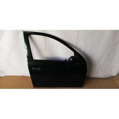 Skoda Fabia I HB 99- drzwi przednie prawe zielone