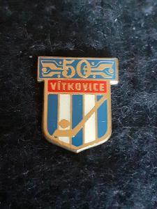 Odznak VÍTKOVICE  - lední hokej, výroční 50 let