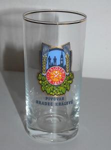 Pivní sklenice Pivovar Hradec Králové