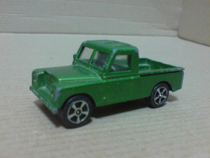 Corgi Juniors-Land Rover - Modelářství