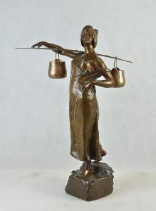 A. E. de Moncel de Perrin - Žena s džbery