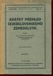 Krátký přehled československého zemědělství
